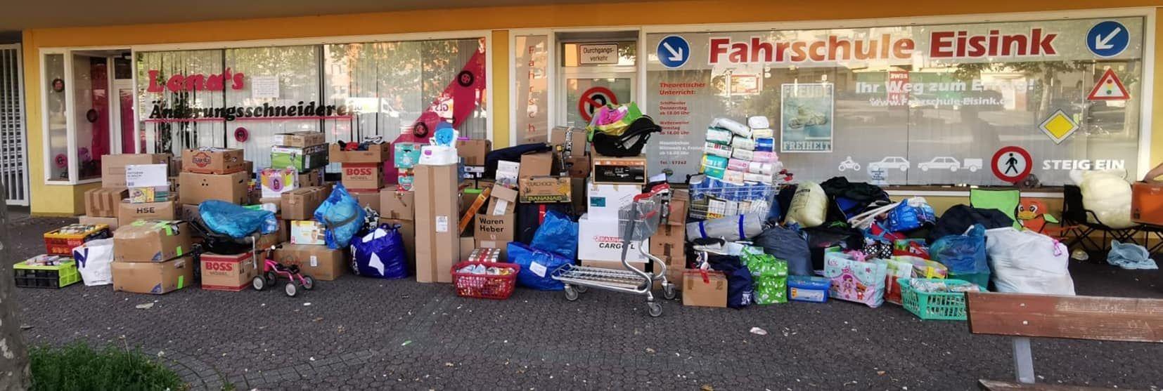 Überwältigende Spendenbereitschaft in Neunkirchen