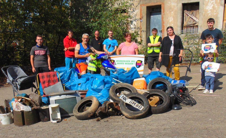 Kampagne World Cleanup Day Neunkirchen