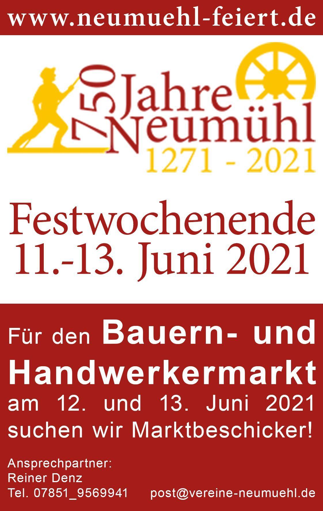 Bauern- und Handwerkermarkt | Neumühl Online
