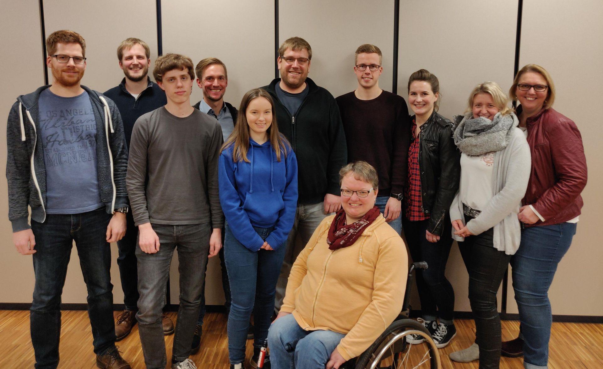 Vorstand des Musikverein Velens