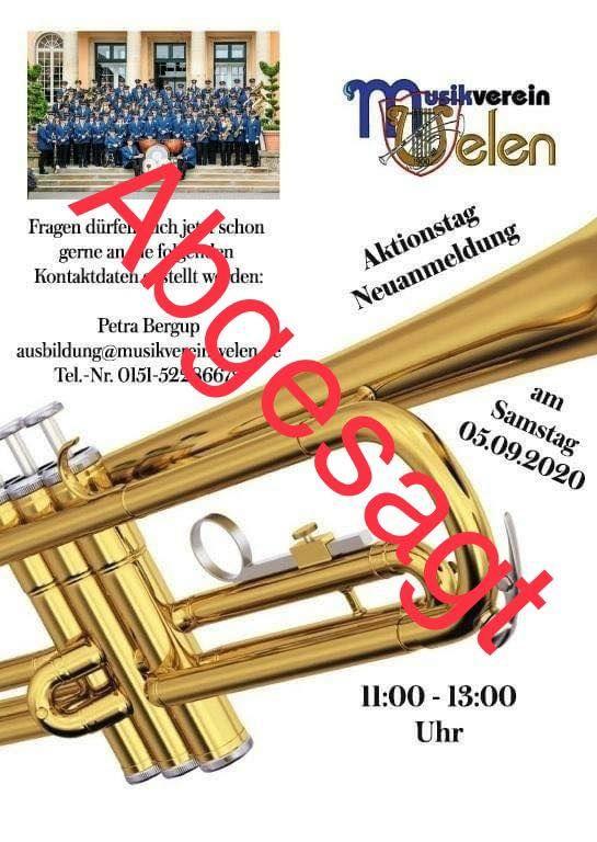Nachrichten   Musikverein Velen 1900 e.V.