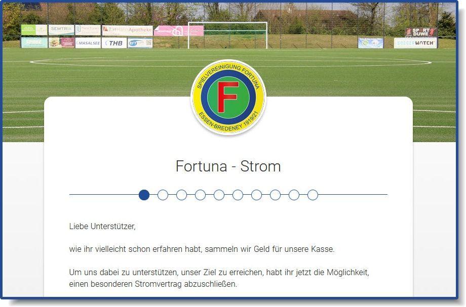 >>> Fortuna - Vereinsstrom <<< - Fortuna - Strom
