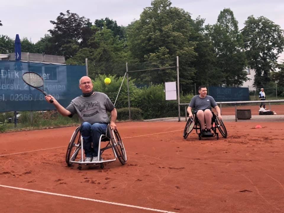 Rollstuhltennis | TC Blau-Weiß e.V. Wanne-Eickel