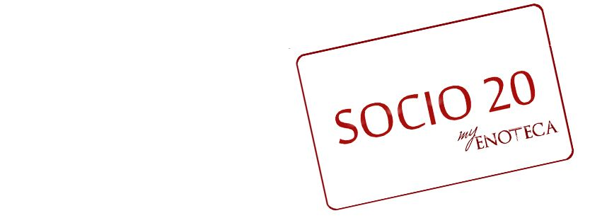 Socio 20 Card | myenoteca.app