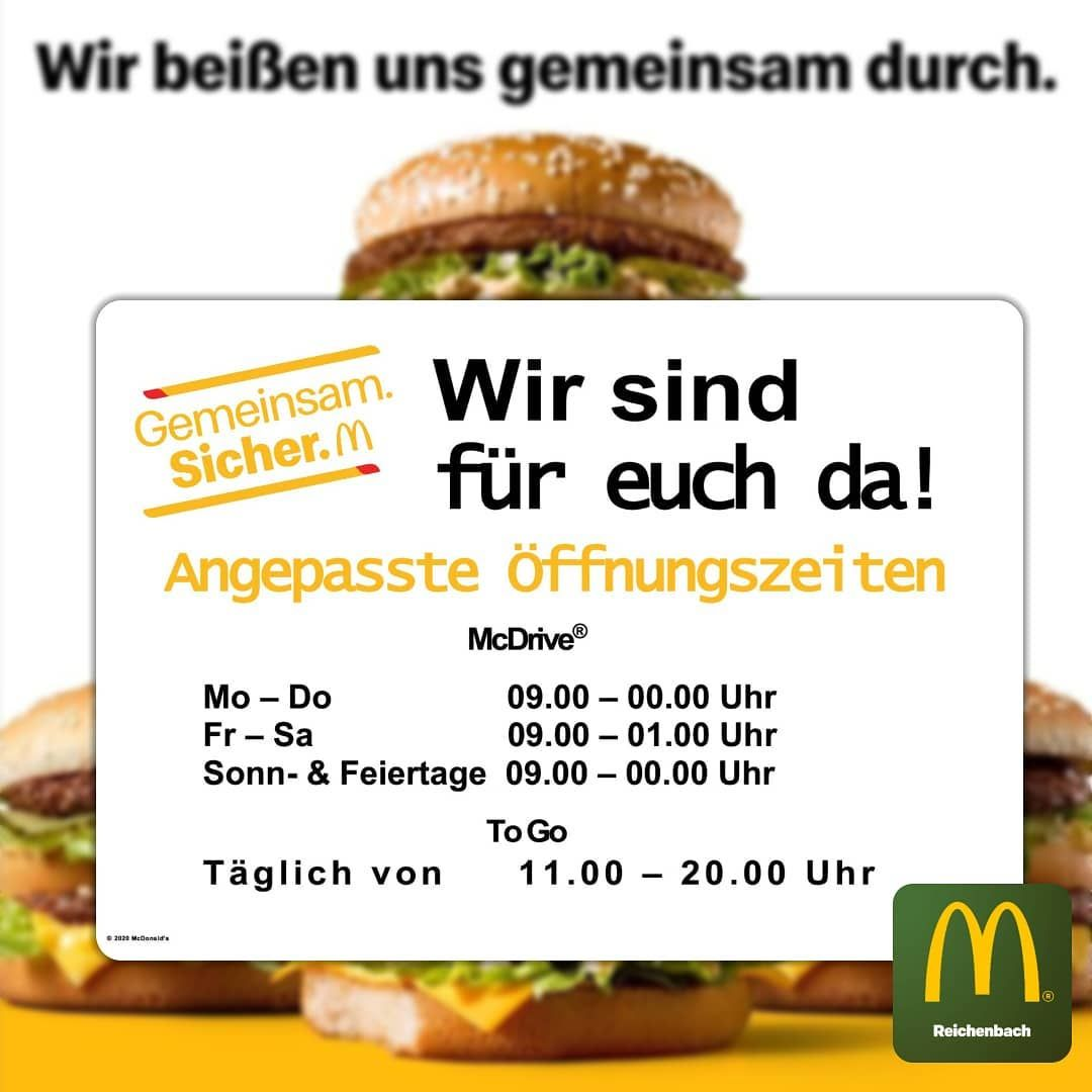 McDonald's Reichenbach in Bildern