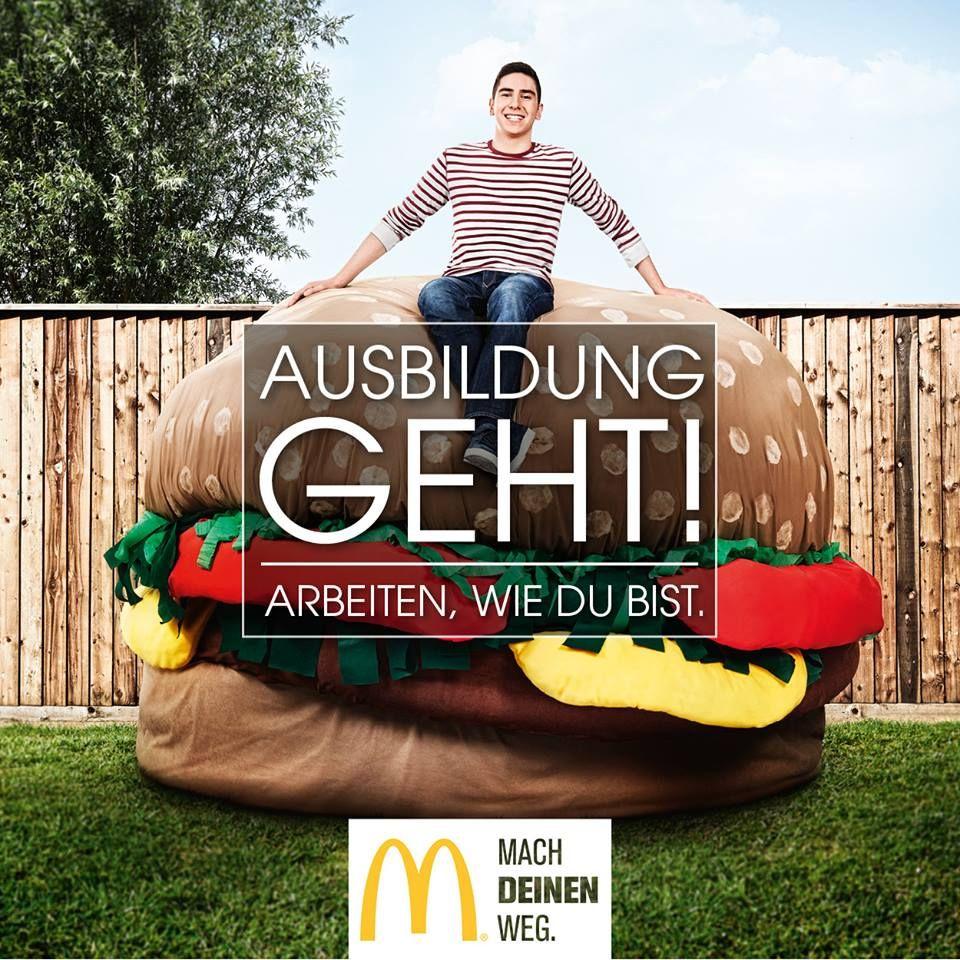 Eine Ausbildung bei McDonald's Reichenbach