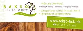 Willkommen!   Rakso - Holz Know How