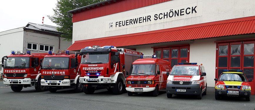 Die Jugendfeuerwehr der Stadt Schöneck stellt