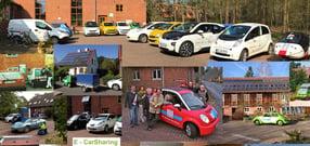 Warum CarSharing mit E-Mobilen? | 1. Solartankstelle Niedersachsens seit 1991 im Lebensgarten Steyerberg