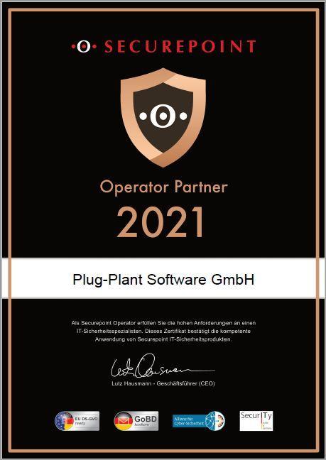 Securepoint   Plug-Plant Software GmbH