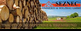 Willkommen! | Seznec Zimmerei & Holzbau GmbH