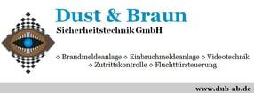 Impressum | Dust & Braun Sicherheitstechnik GmbH