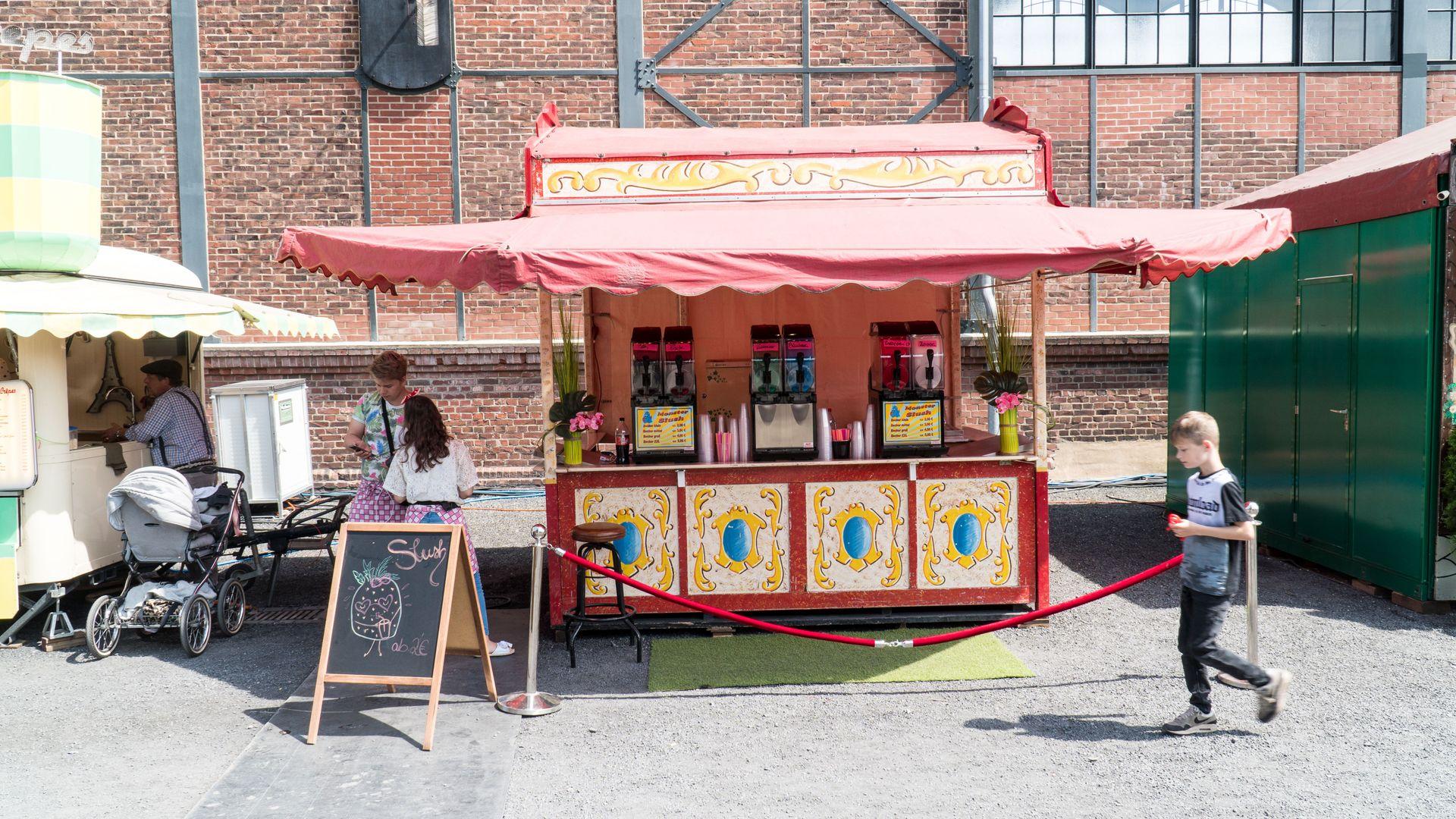 Schausteller-Gastronomie Eis