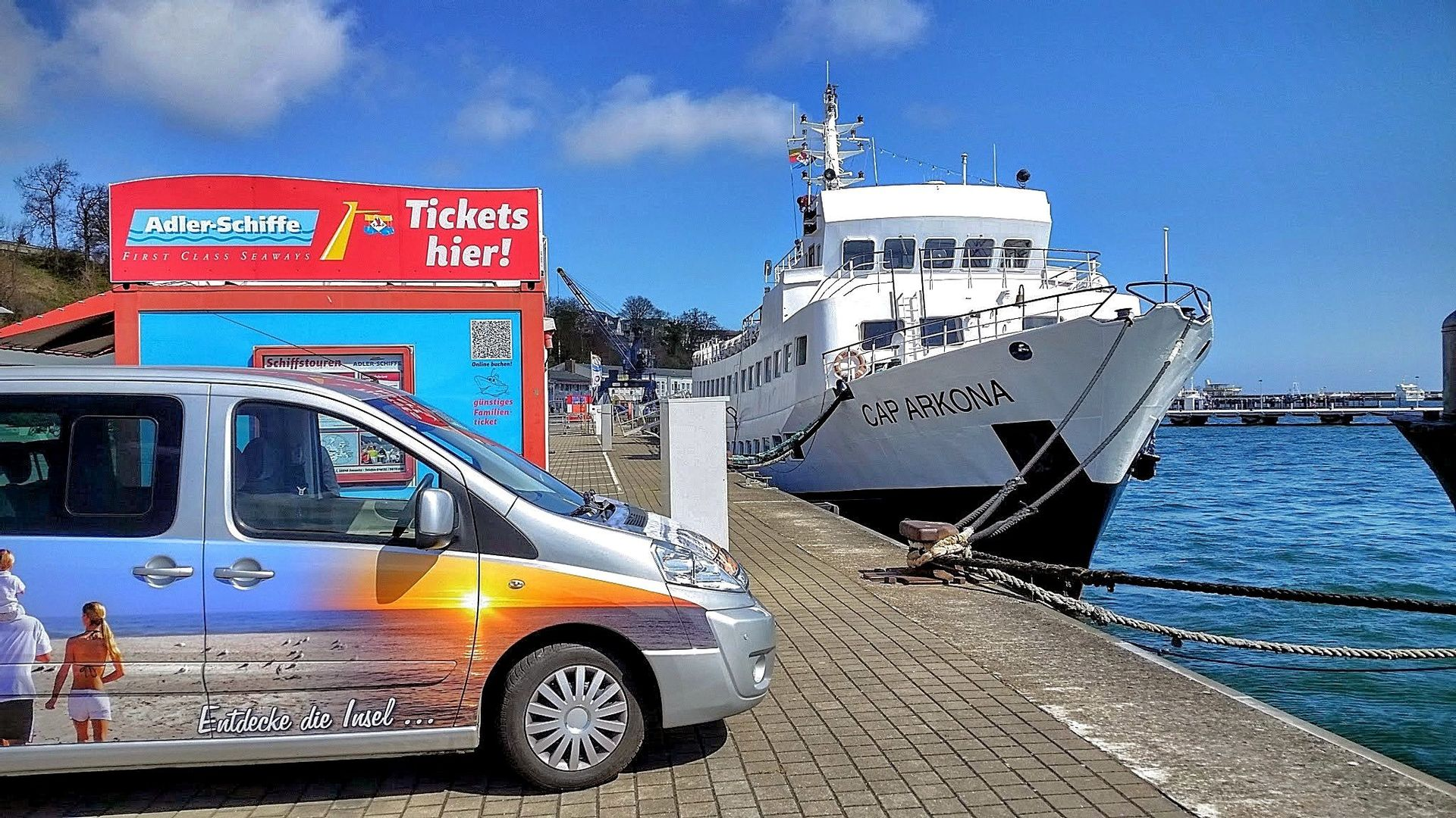 Rügener Hafenrundfahrt - maritime Kleinbustour
