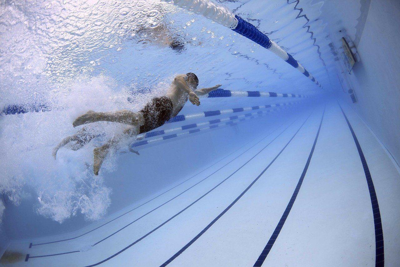 Reservierung von Schwimmzeiten -
