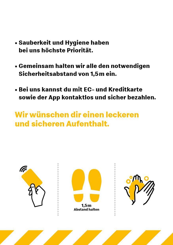 Unsere Hygiene-Regeln   McDonald's Auerbach