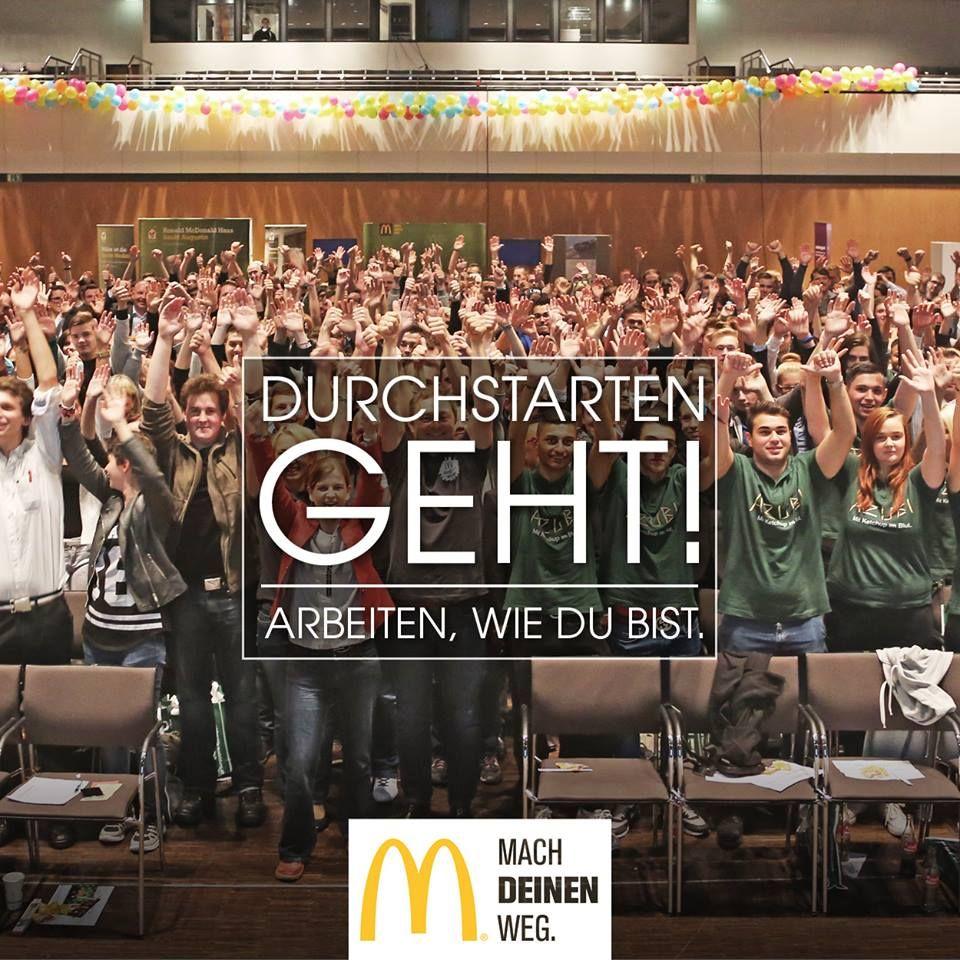 Eine Ausbildung bei McDonald's Auerbach