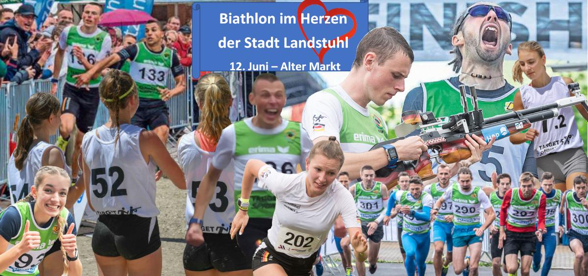 Biathlon im Herzen der Stadt Landstuhl 2022 -
