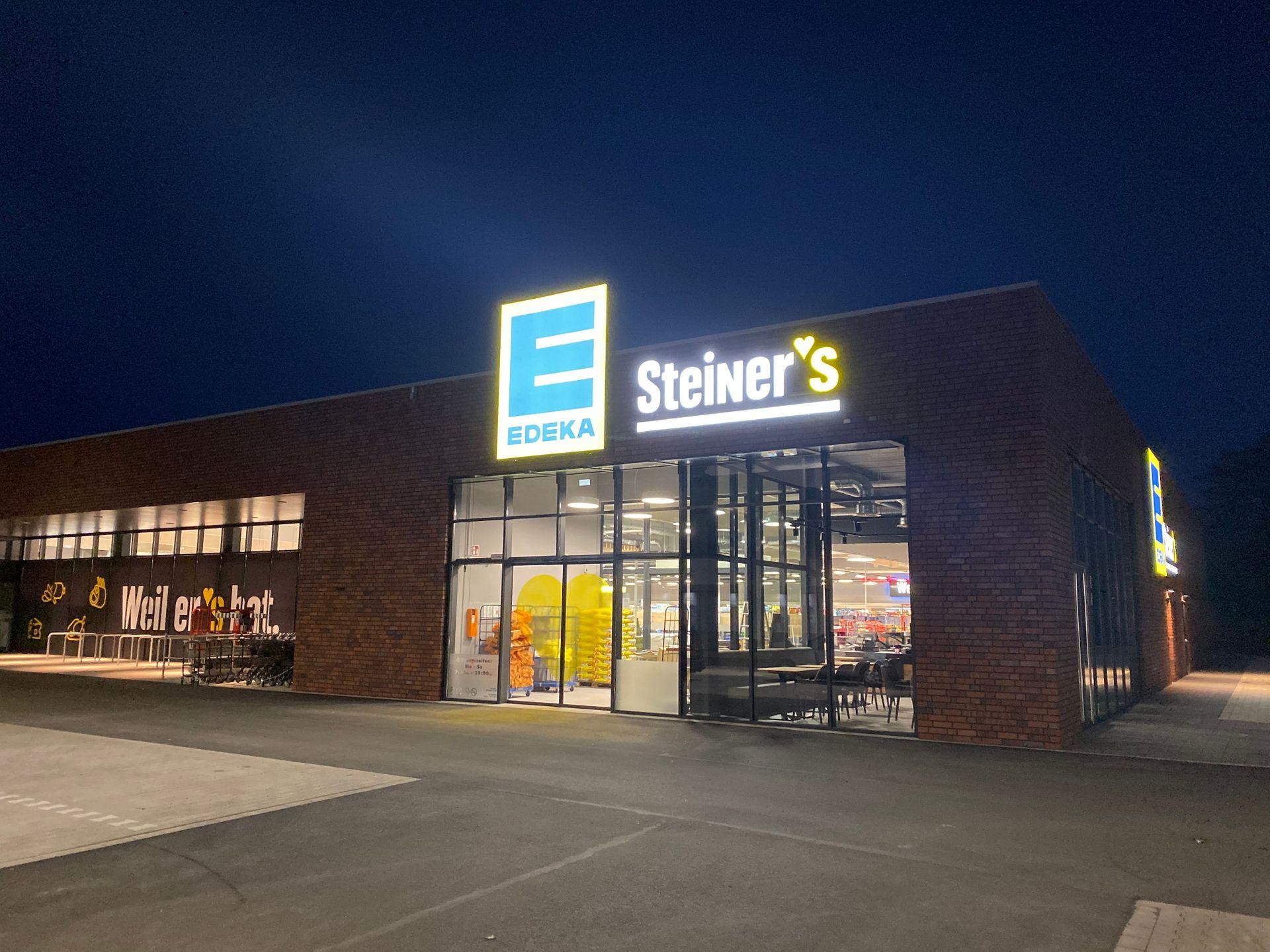 Unsere Märkte | Steiner's EDEKA