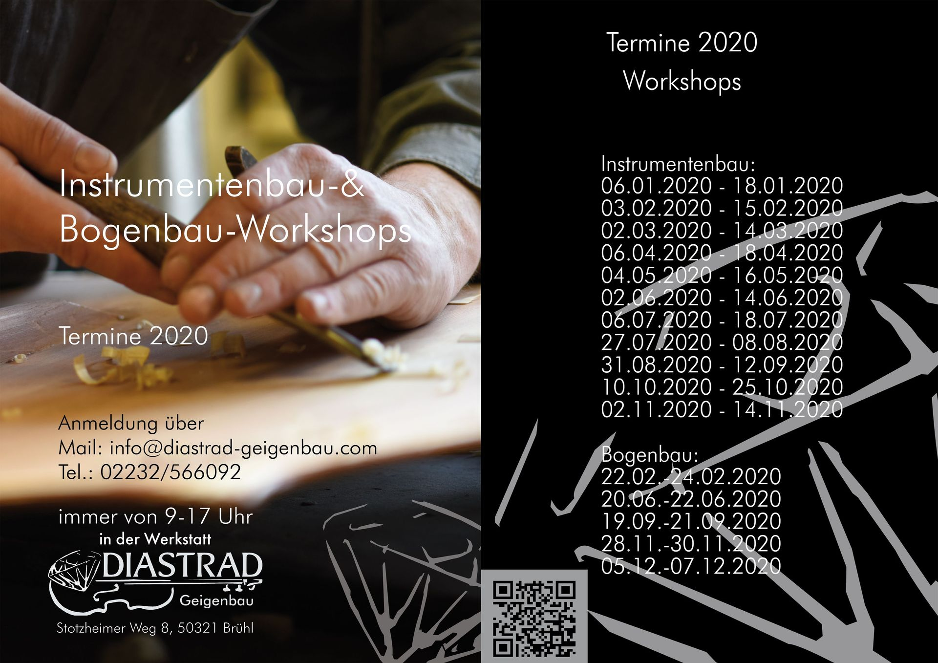 Instrumenten- und Bogenbau-Workshops - Workshops
