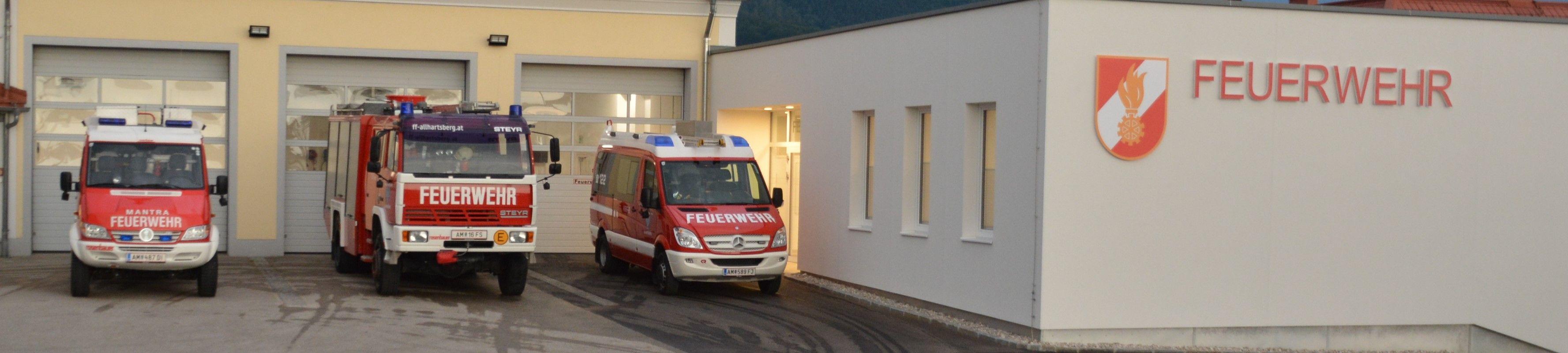 Historie | Freiwillige Feuerwehr Allhartsberg