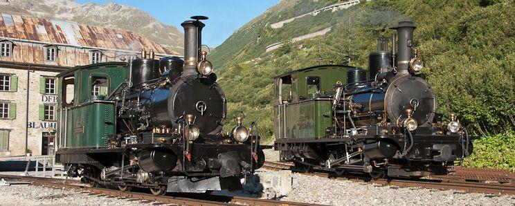 Dampflokomotiven   Dampfbahn Furka-Bergstrecke