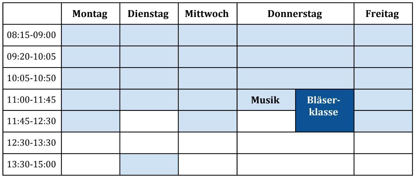 Bläserklasse - Bläserklasse (3. Klasse)