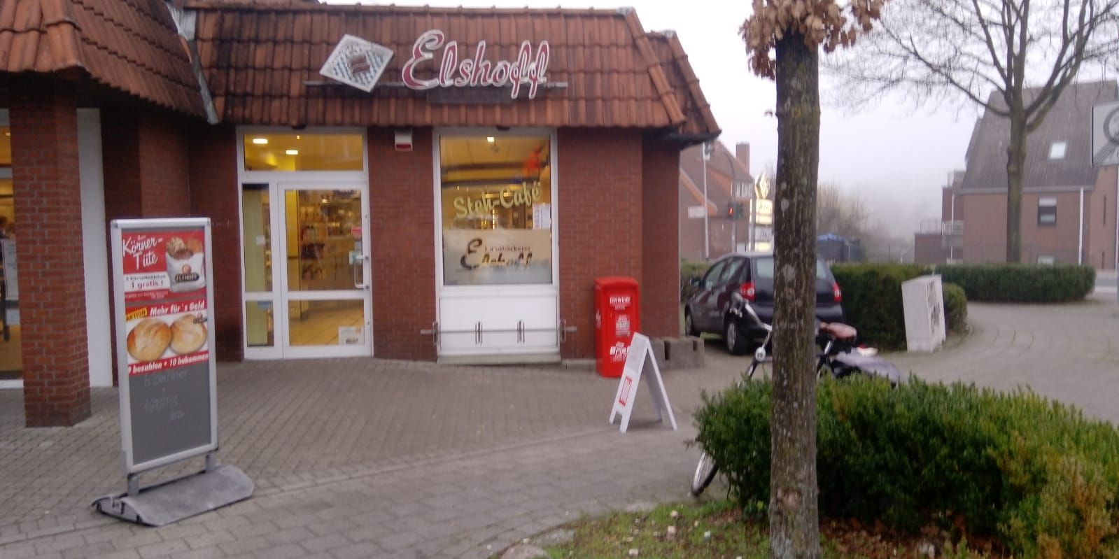 Bäckereifiliale mit Stehcafé in MS-Nienberge -