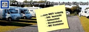 Willkommen! | P+R Parken Camping Zelten Leipzig City Nord
