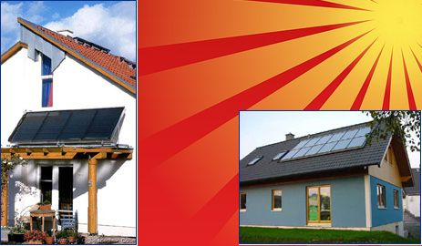Sonnenkollektoren | Banken Sanitär & Heizung