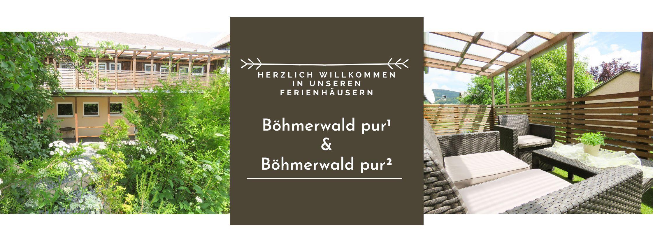 Willkommen! | Böhmerwald pur + Böhmerwald pur²