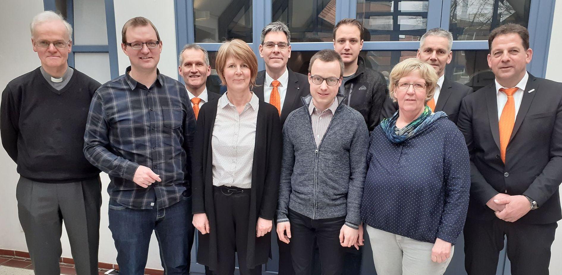 Vorstand der Kolpingsfamilie Billerbeck