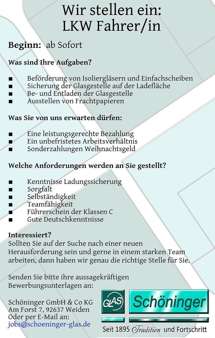 Jobs | Schöninger GmbH & Co KG