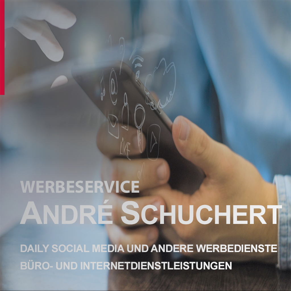 WERBESERVICE ANDRÉ SCHUCHERT  *DIGITALE-REKLAME*