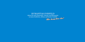 Humanitas Coesfeld | Coesfeld bleibt bunt!