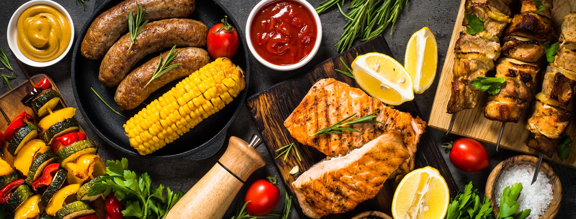 Herzhaft gewürzte Fleischspezialitäten nach Wahl