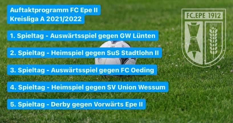 Aktuell   FC Epe 1912 e.V.
