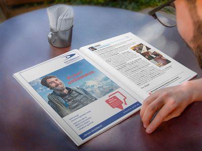 Vereinszeitung & Programm-Flyer -