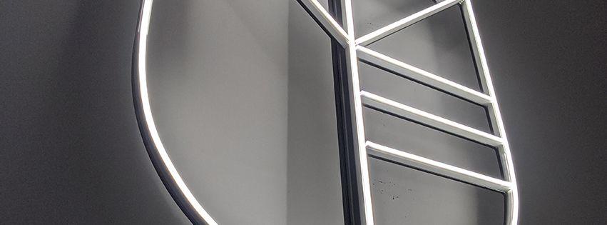 Neon LED Logo - Musik Band Meute - Neon LED
