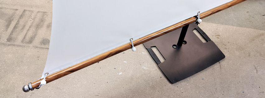 Segel Projektionsleinwand - Segel Leinwand