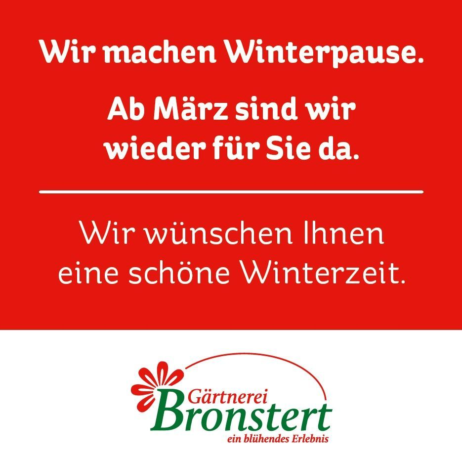 Willkommen! | Gärtnerei Bronstert