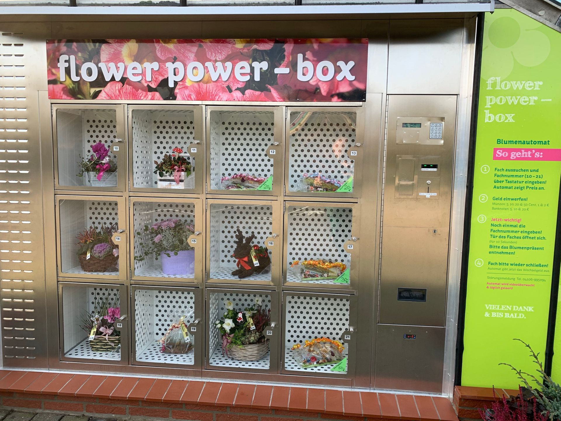 flower power - box | Gärtnerei Bronstert