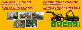 Einrichtung | Forst- und Landschaftsservice Boers GbR