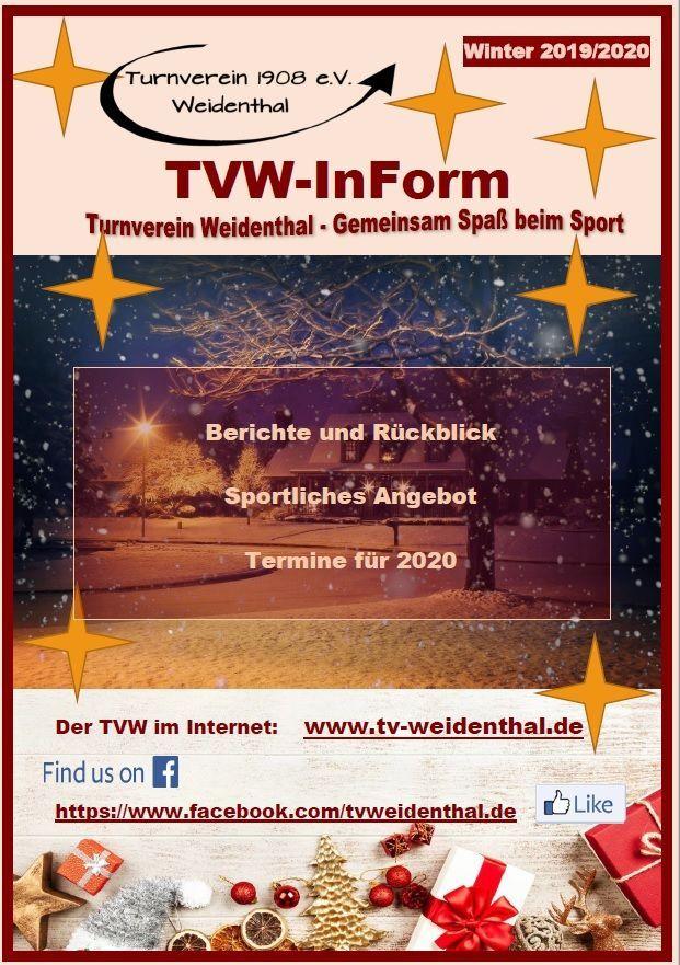 Vereinsmagazin TVW-Inform - Vereinsmagazine