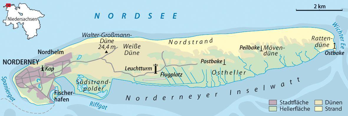 Inselkarten - Landkarten - Historische Karten -