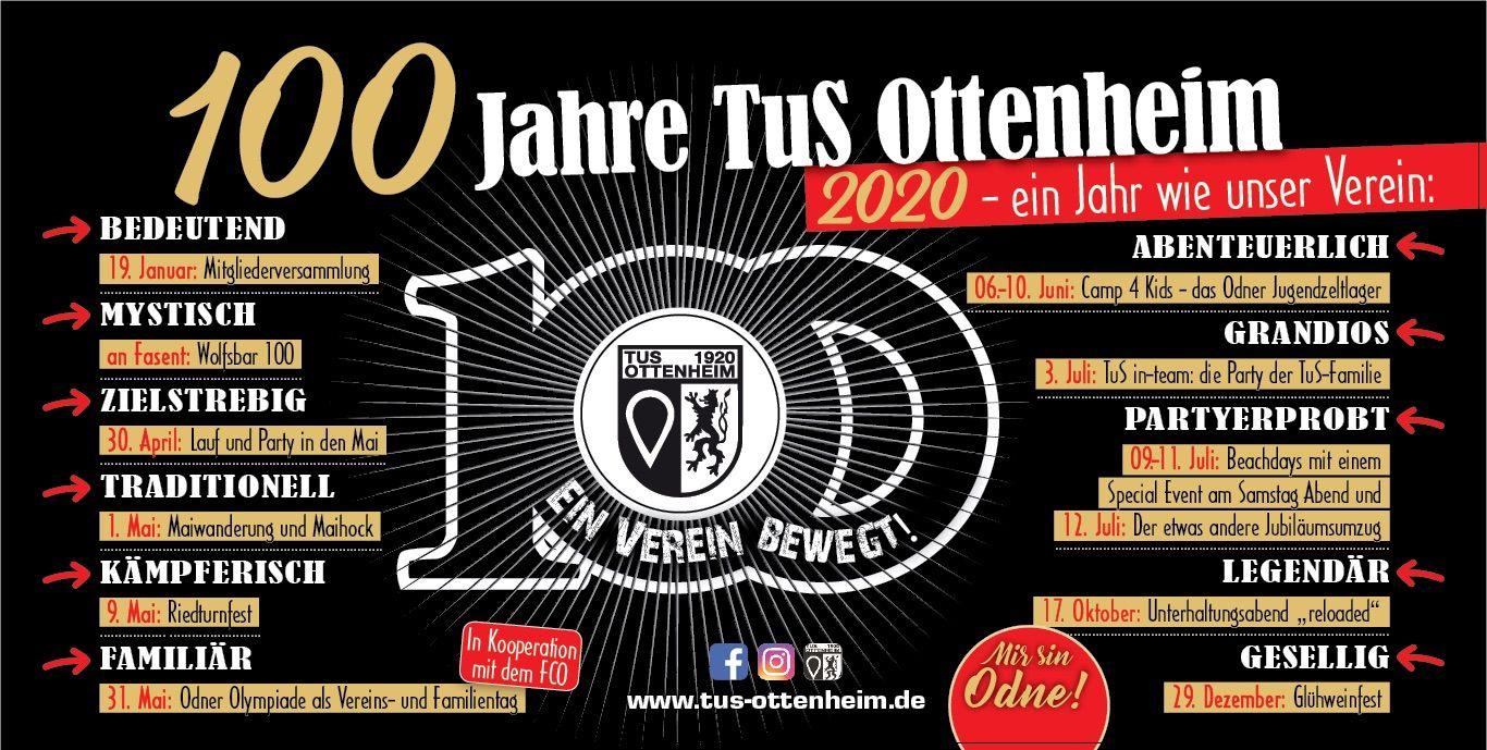 Auf dem Weg zum Jahrhundertverein - 100 Jahre TuS