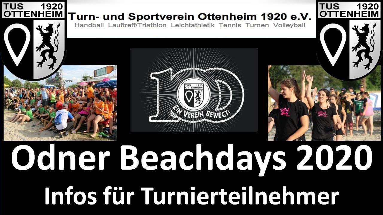 BEACH Days des TuS Ottenheim - Beach-Days 2020