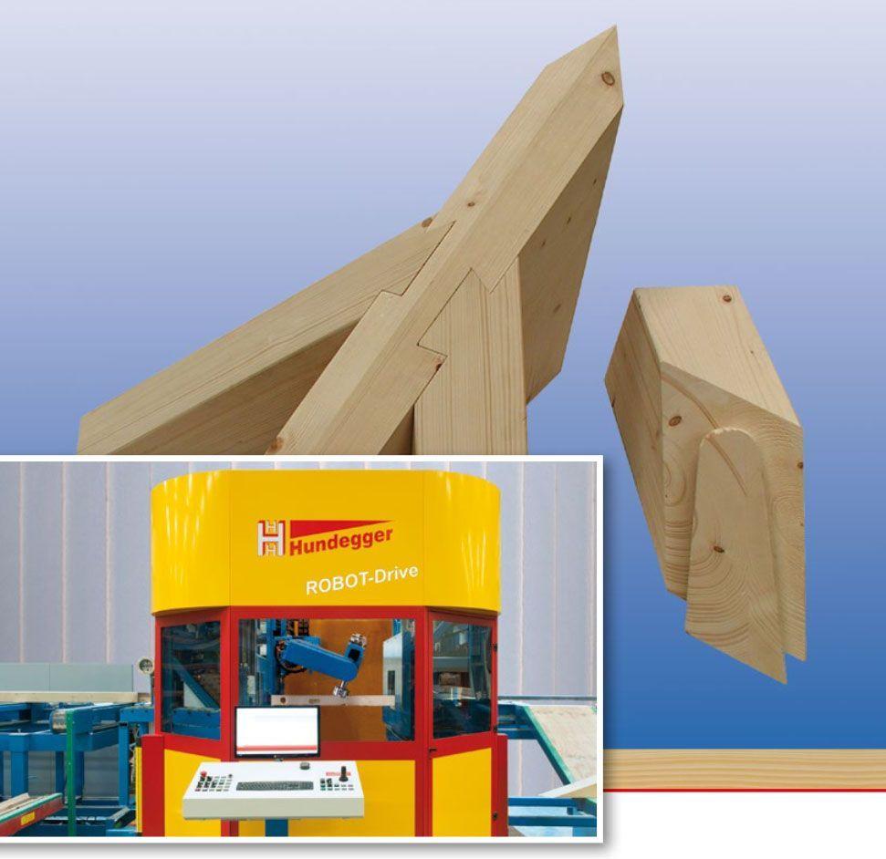 Hundegger ROBOT-Drive 450 - vollautomatische