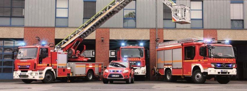 Feuerwehr Beckum - Hauptamtliche Kräfte