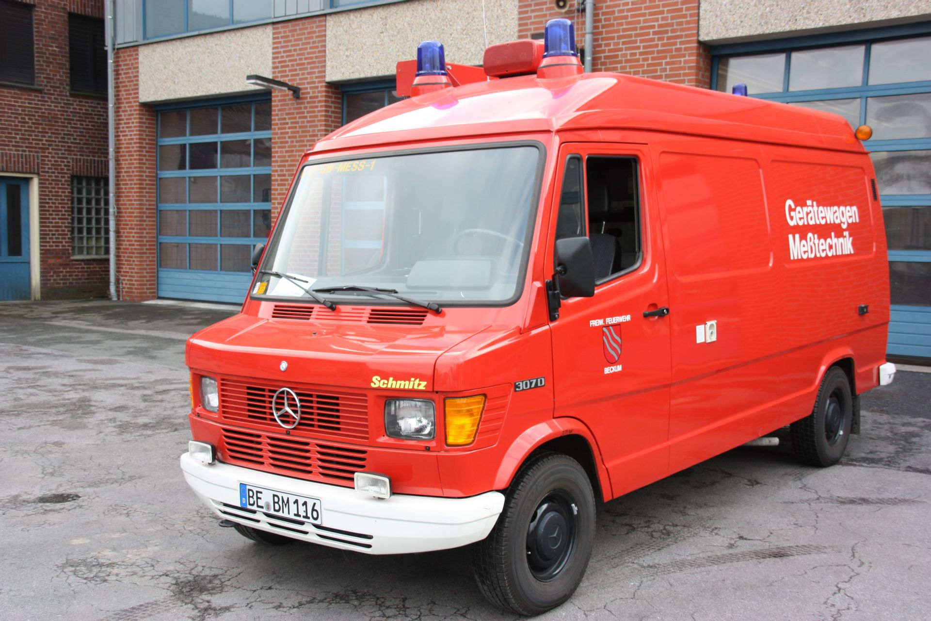 Feuerwehr Beckum - Ehemalige Fahrzeuge